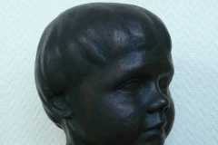 1978-003 portret ellen in brons