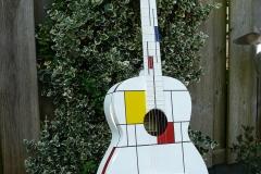 Mondriaan gitaar